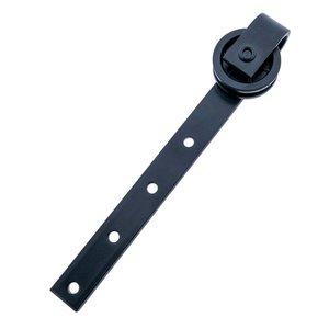 Blackline Sliding Door Hanging Roll 60mm