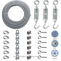 Cable Railing Kit/Garden Wire