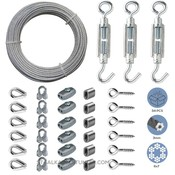 Cable Railing Kit/Garden Wire/Espalier Wire Kit/Wire Fence Roll Galvanised
