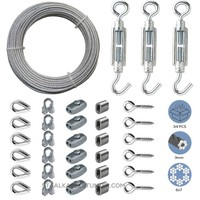 Cable Railing Kit/Garden Wire Galvanised