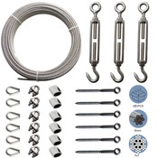 Stainless Cable Railing Kit/Garden Wire/Espalier Wire Kit/Wire Fence Roll