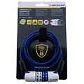 Dunlop Wire Rope with digitlock 4mm x 1.80 meter
