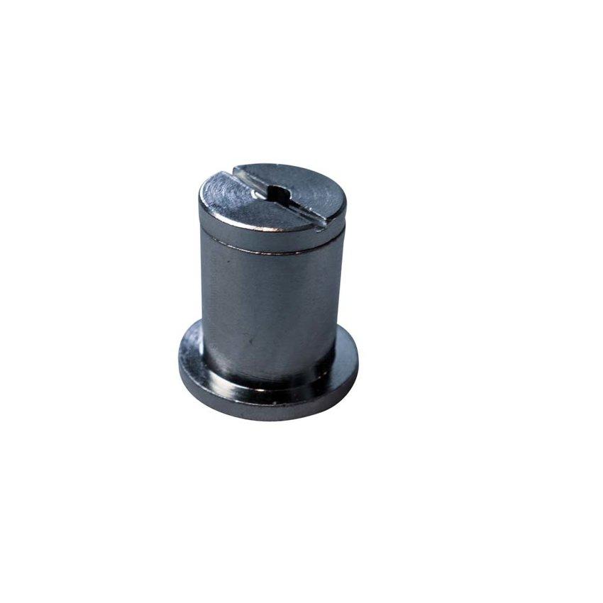 Plafondbevestiging voor staalkabel 2.5mm