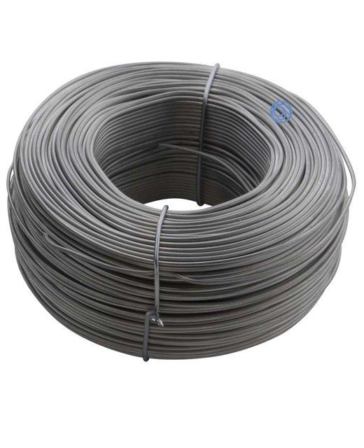 Rvs vlechtdraad- roestvaststaal 1.1mm 1kg voor betonijzer
