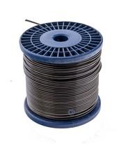 staalkabels 1.5/2.5 mm geplastificeerd 100 meter Zwart Smoke