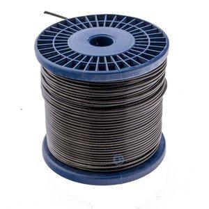Wire Rope 1.5/2.5 mm PVC 100 meter Black Smoke