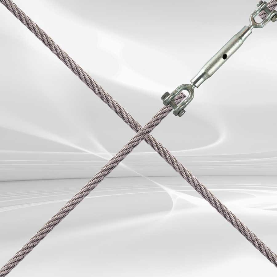 Verstevig je constructie met een windverband of kruisverband