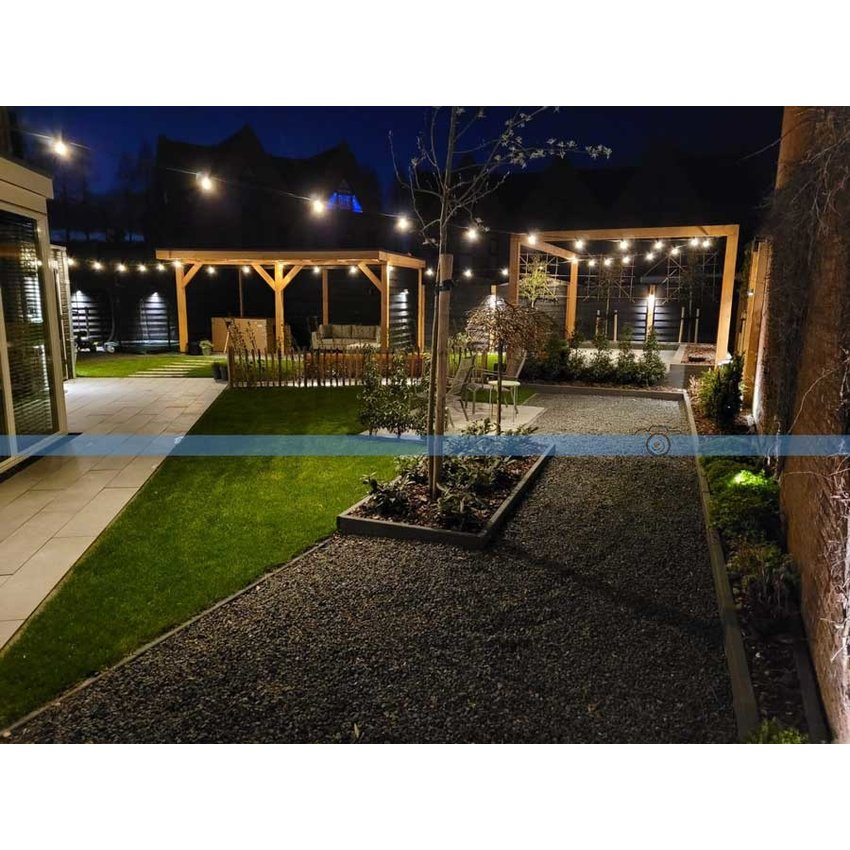 Wire Rope Lightstring outdoor light package