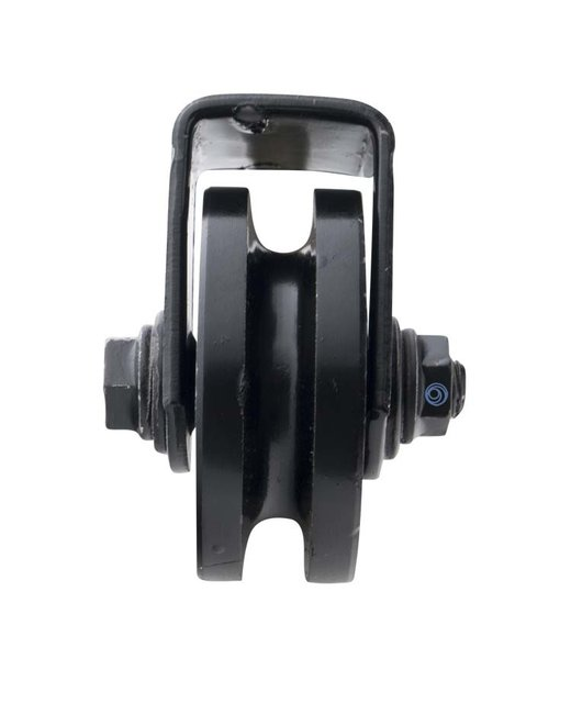 Katrol met aanlasbeugel - 60mm