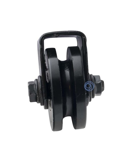 Pulley with weld-on bracket - 60mm
