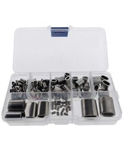 Stainless steel Press clamps assortment 182 pcs