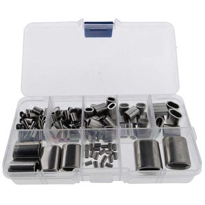 Stainless steel press clamp assortment 182 pieces