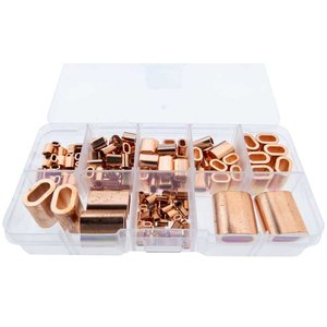 Copper Clamp assortment 182 pieces