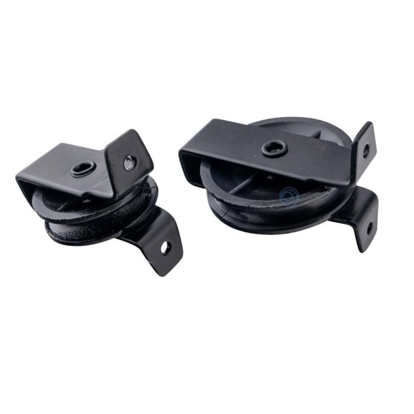 Standing pulley with polyamide wheel black