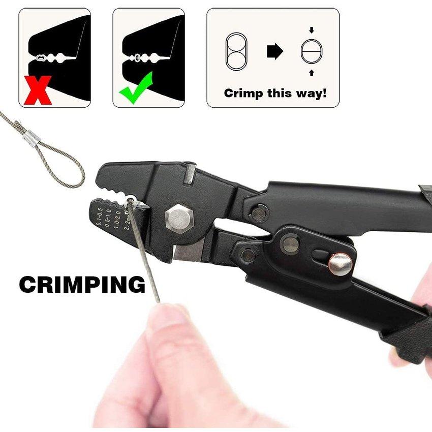 Crimping tool | Threadcutter