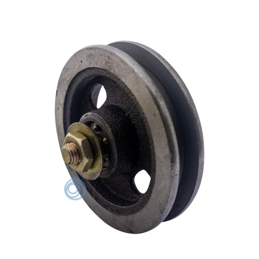 Cast iron wheel with needle bearing 90mm