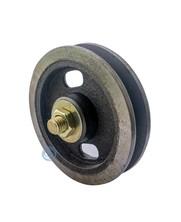Gietijzeren wiel met naaldlager 105mm