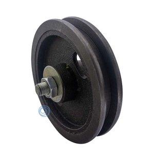 Cast iron wheel 120mm