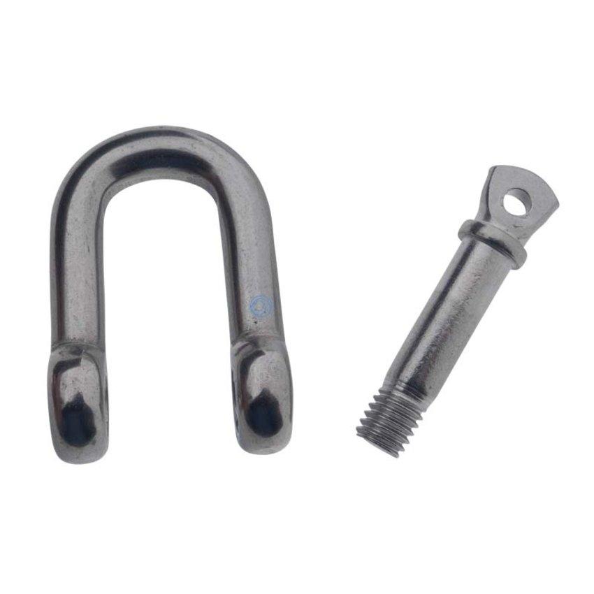 Rvs Harpsluitingen 4mm
