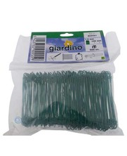 Tie-wire - Twisting wires green PVC 1,4x100mm