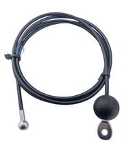 Fitness Staalkabel 4/6mm met eindkogel en trek oog en bal-stop met eindstop balvormig