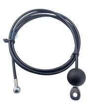 Fitness Steel cable 4/6mm with end ball and pull eye and ball stop