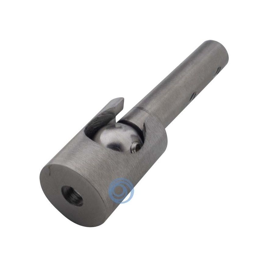 Steel cable ball joint for diagonal mounting 3mm