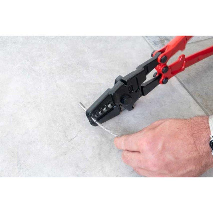 Kabelklemtang 2 - 5mm rood