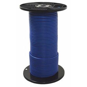 Staalkabel geplastificeerd 4/6 100 meter blauw
