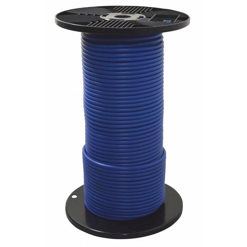 Staalkabel blauw geplastificeerd 4/6 voor mestschuiven
