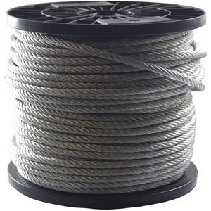 stainless Wire Rope 10 mm a length of 75 meter