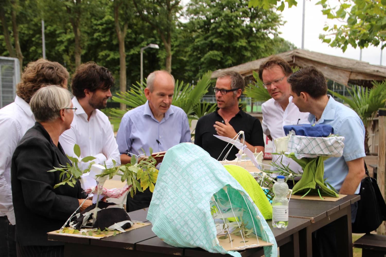 Wedstrijd TU Delft met staaldraad