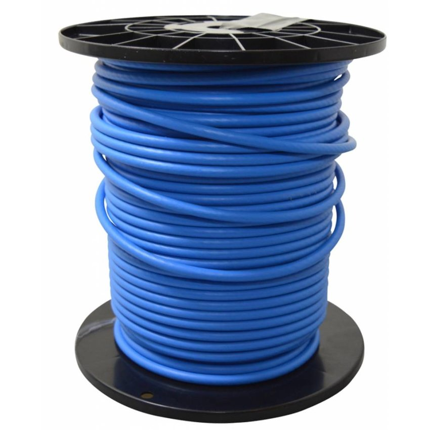 Wire Rope Blue PVC 6/8 for  manure sliders