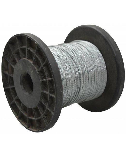 Staalkabel op rol - 1 mm 100 meter op katrol