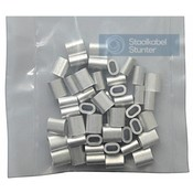 Wire rope clips 1.5mm Discount pack 50 pieces
