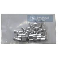 Presshülsen 1mm Vorteil Verpackung  50 Stück