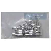 Wire Rope Clip 1mm Discount pack 50 pieces