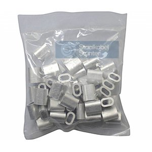 Wire rope clips 4mm Discount pack 50 pieces