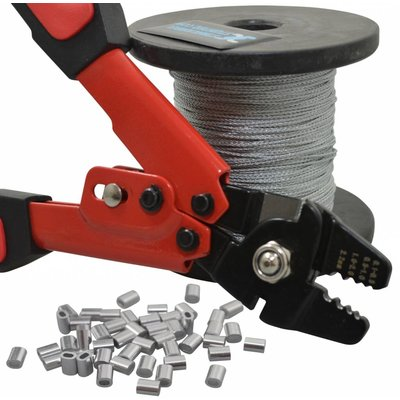 Stanford Wire RopePackage with Crimping tool 1mm