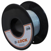 B-Lock Staalkabel op rol - 1.5 mm 50 meter op katrol