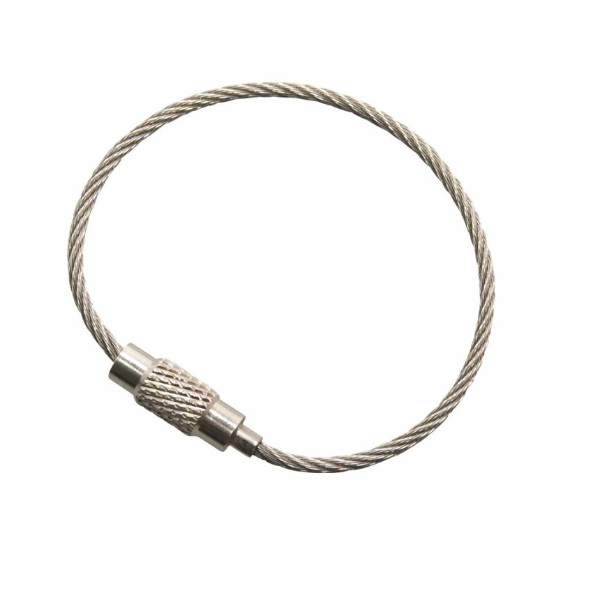 Stainless Wire Rope 110 mm steel wire key ring