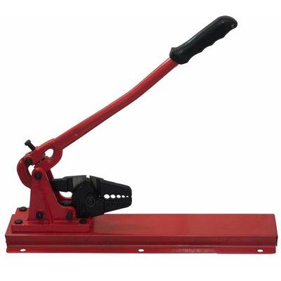 Stanford Kabelklemtang 2 - 5mm rood tafelmodel