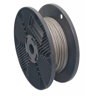 Stainless Wire Rope 1 mm 100 meter inox 1x19