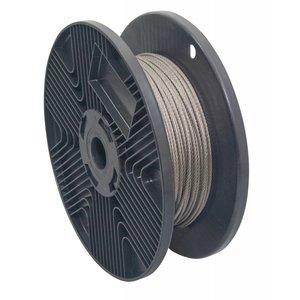 RVS Staalkabel 3 mm een lengte van 100 meter