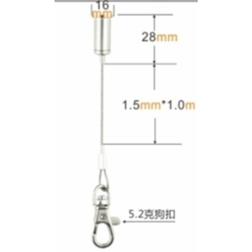 Suspension kit Wire Rope 10