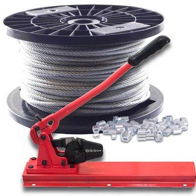 Wire Rope 4 mm 100 meter Discount package