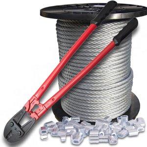 Wire Rope 6 mm 100 meter Package