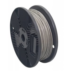 stainless Wire Rope 3/4 mm PVC 100 meter