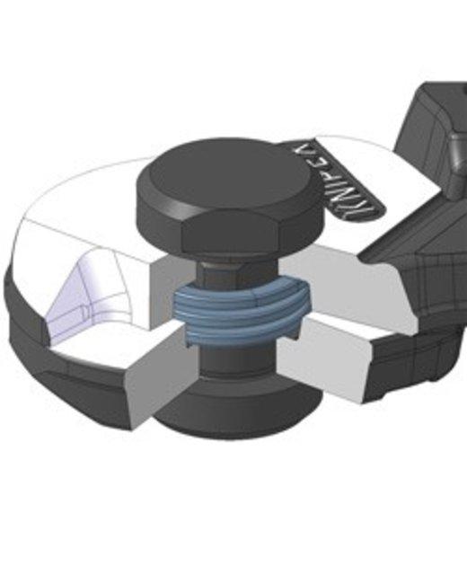Staalkabel knipper Gesmeed   Staalkabeltang knipex