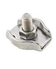 Wire Rope Clips Stainless 6 mm Stainless